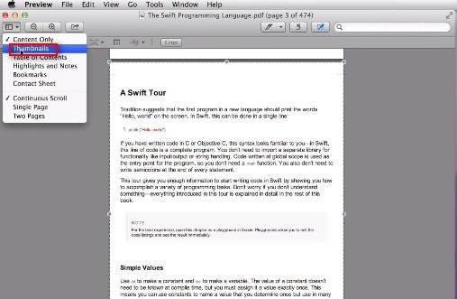 passo 5 cortar com preview no mac