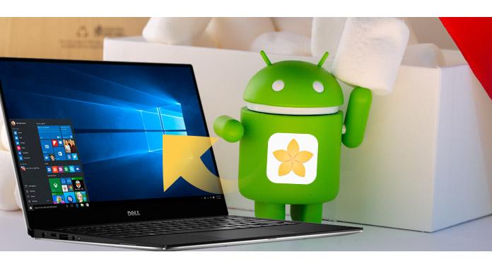 transferir fotos android para computador