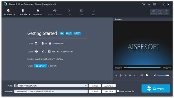 passo 1 combinar arquivos de audio com converter ultimate