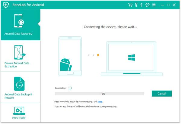 passo 1 melhor software de recuperacao android