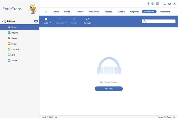 passo 2 como transferir audiolivros para iphone