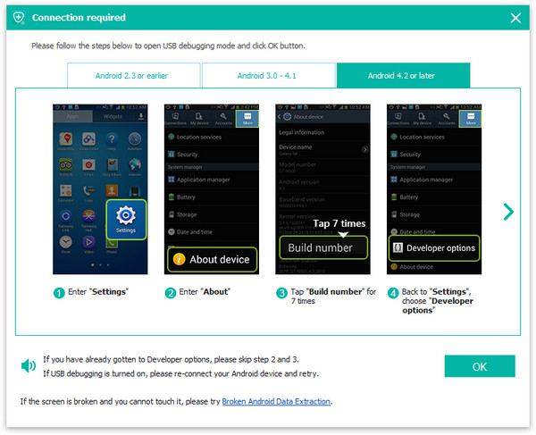 passo 2 melhor software de recuperacao android