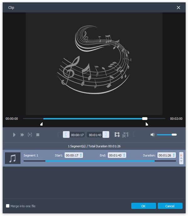 passo 3 combinar arquivos de audio com converter ultimate