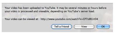 passo 3 como compartilhar video imovie