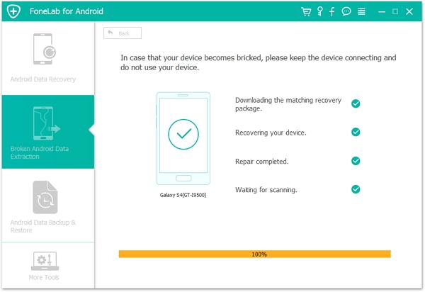 passo 4 corrigir android modo recuperacao