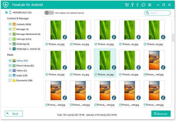 passo 4 melhor software de recuperacao android