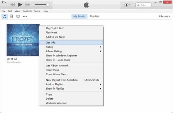Passo 2 Criar versão AAC iTunes