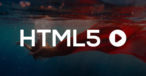 Reprodutor de vídeo HTML5