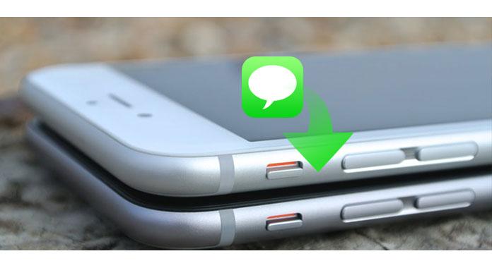 transferir mensagens de um iphone pro outro