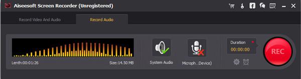 Passo 3 gravar yotube para MP3