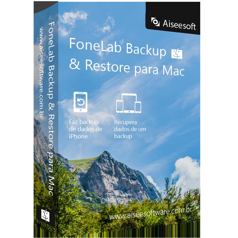 FoneLab Backup & Restore para Mac