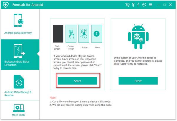 passo 1 acessar android tela quebrada