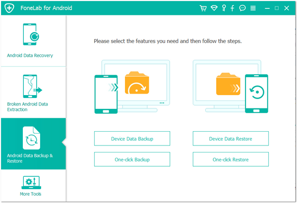 passo 1 backup ferramenta android