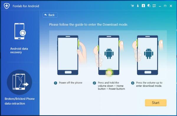 passo 4 ferramenta reparo android