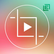 crop video square icon