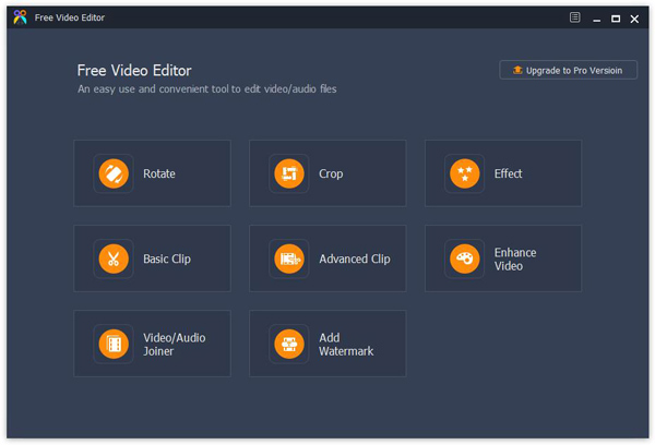 free video editor interface