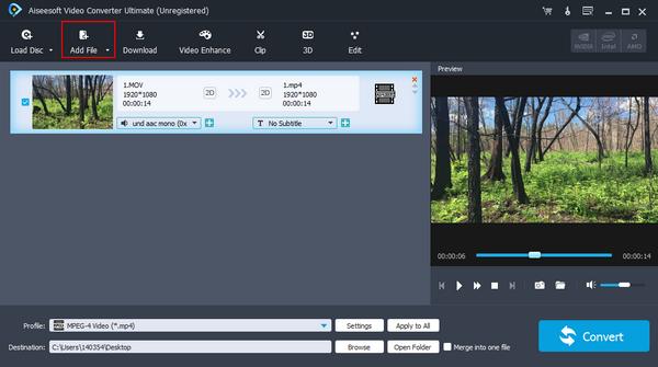 passo 1 como estabilizar video editor profissional