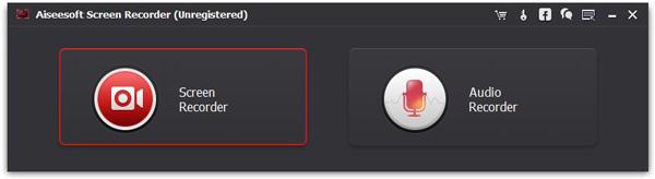 Passo 1 gravar vídeos Screen Recorder