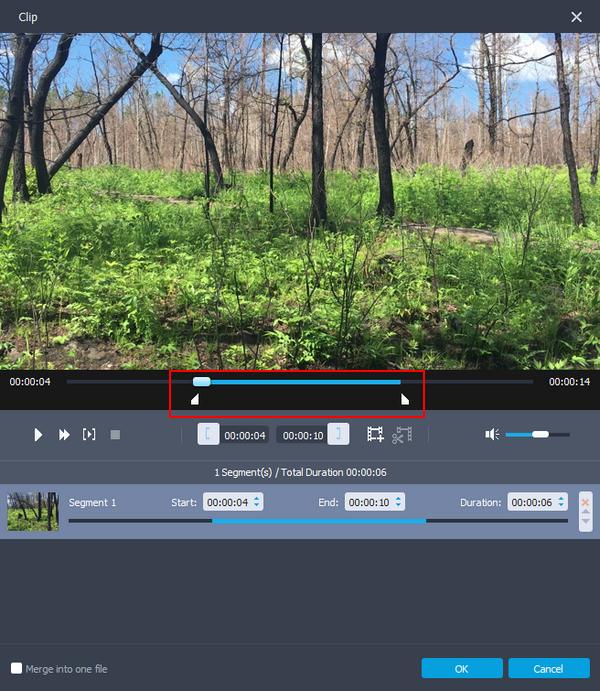 passo 2 editar video gopro enhancer