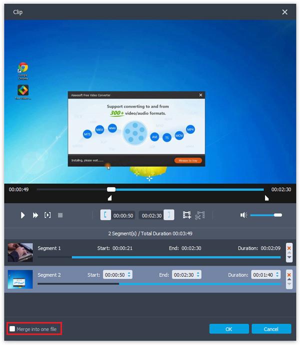 passo 2 melhor maneira de mesclar videos