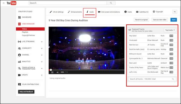 passo 3 adicionar musica apos upload