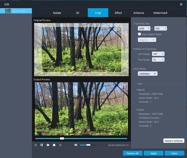 passo 3 como estabilizar video editor profissional
