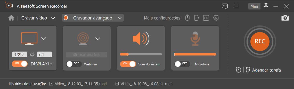/></p> <h4>Gravar áudio em streaming &#8211; Spotify</h4> <p><img src=