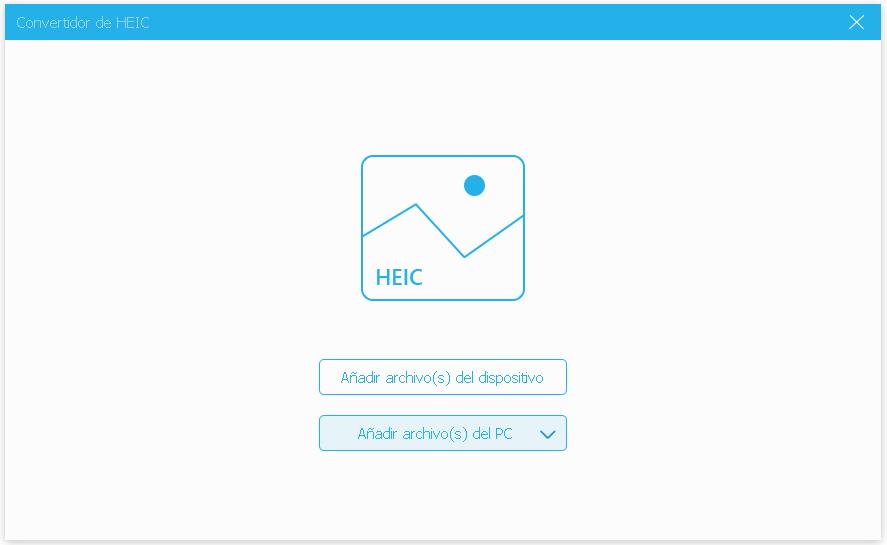 Convertir fotos HEIC
