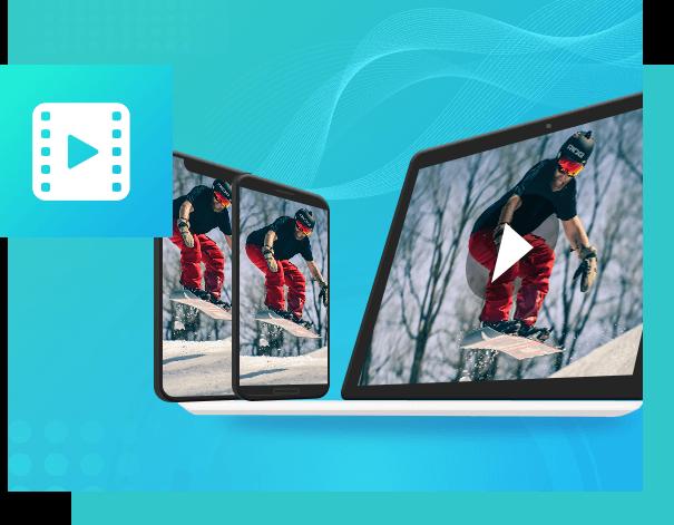 Passe filmes de um dispositivo para outro